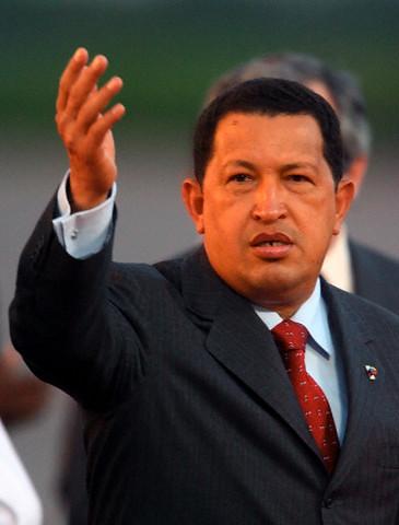 Venezuelan President Hugo Chavez July 2006