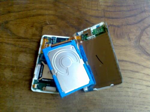 iPod durante la operación