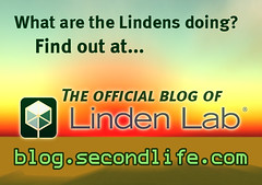 The Official Blog of Linden Lab poster