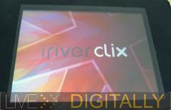 Clix startup screen