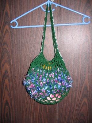 Natalie's econoshopper mesh bag