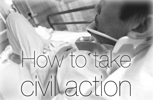 How to take Civil Action