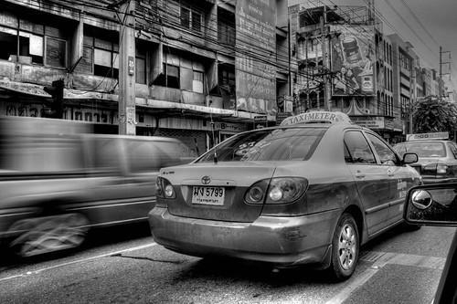 Cars, Bangkok - HDR