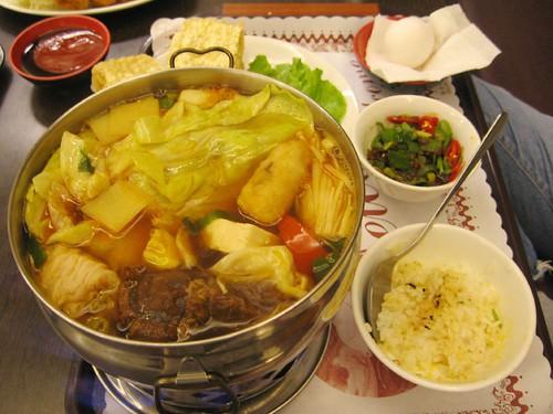 beef brisket hot pot