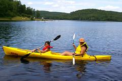 Kayaking at Arrowhead