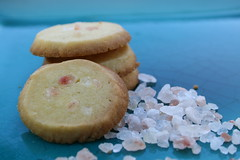 vanilla salt cookies