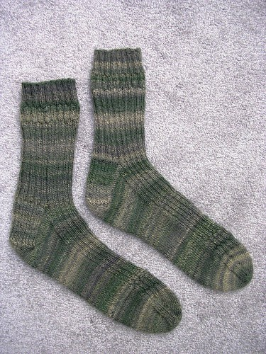 simple trekking socks