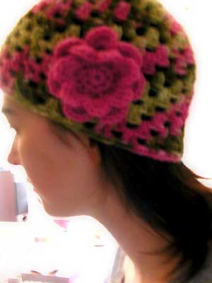 The new crochet hat