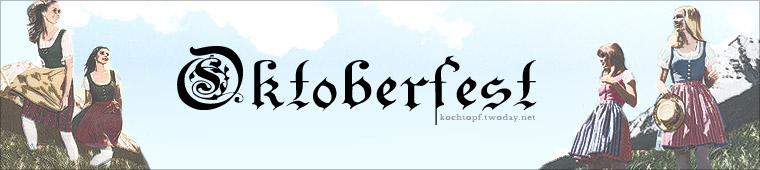 Blog-Event XVII: Oktoberfest