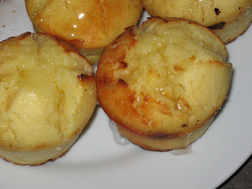 lemon cake... adapted into muffins