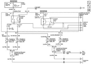 Headlight Wiring Diagram 98  S10 Forum