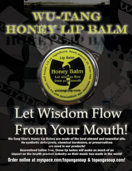 Wu Tang Honey Lip Balm