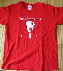 The Motion Sick t-shirt