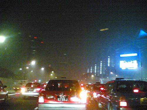 Traffic Haze-ard.