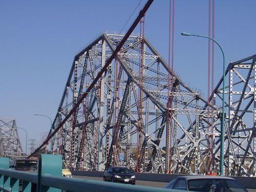 The Original Bridge Coming Down