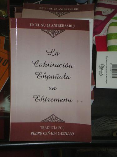 La Cohtitución Ehpañola