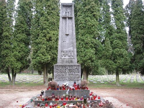 Cmentarz żołnierzy włoskich (II)