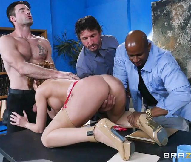 Britney Amber Michael Vegas Tommy Gunn Charles Dera Prince Yashua In Office Girl Gangbanged On The Meeting Hd From Brazzers Porn Stars Like It