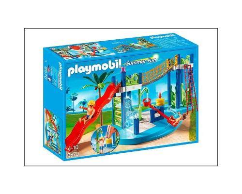 playmobil summer fun 6670 aire de jeux aquatique