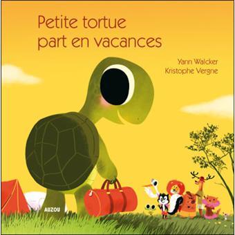 Petite tortue part en vacances