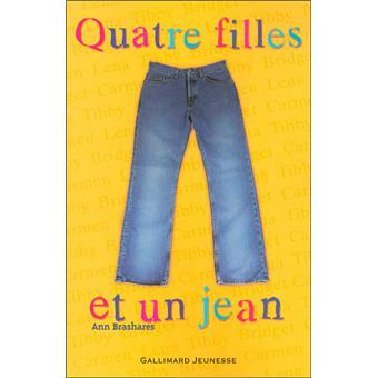 """Résultat de recherche d'images pour """"quatre filles et un jean livre"""""""