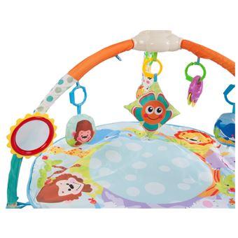willy tapis d eveil interactif bebe des la naissance arche d eveil avec jouets amovibles design moderne et tissu doux multicolore
