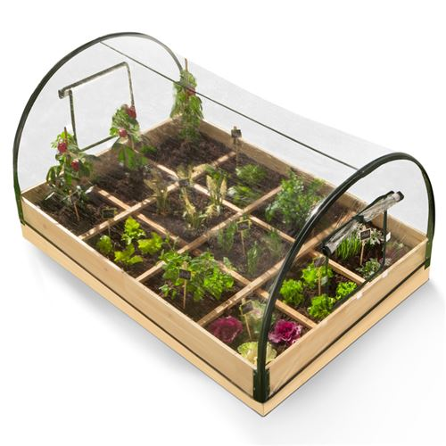 carre potager 12 compartiments housse serre chassis