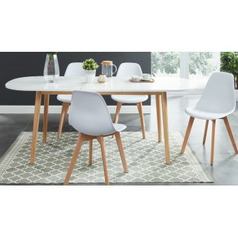 table a manger scandinave extensible