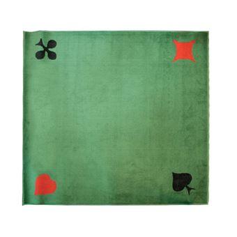 vauchier playbox tapis de cartes velours vert 4 as