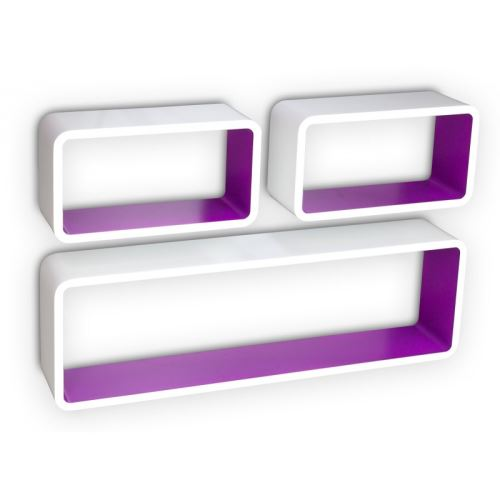 violet rose relaxdays etagere a
