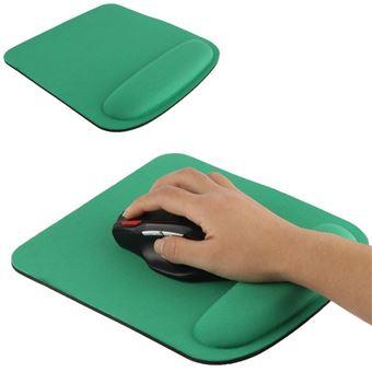 tapis de souris ergonomique repose poignet gel ultra fin vert