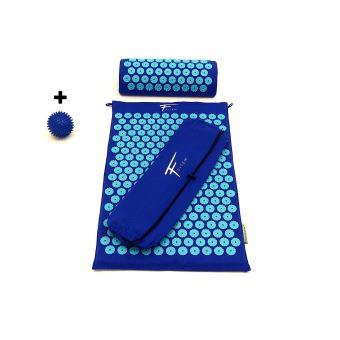 fitem kit d acupression tapis d acupression coussin sac boule de massage soulage douleurs dos et cou