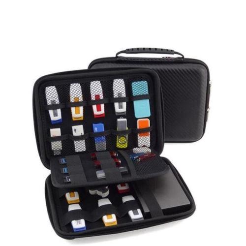 etui pochette sac de protection rangement pour cle usb accessoires electronique disque dur externe 2 5 pouces sac 22 16 4 5 cm