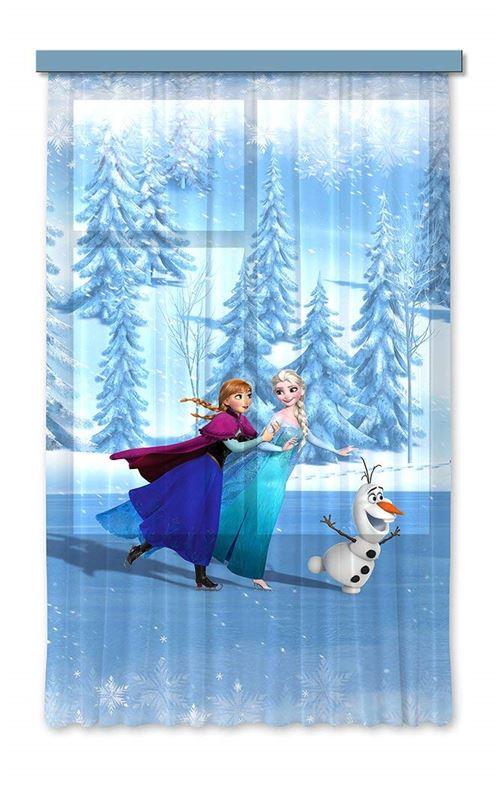 ag design rideaux la reine des neiges disney frozen rideaux enfants impression photo 3d 180 x 160 cm 1 voilages fcsl 7105
