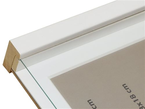 deknudt frames s223k1p1 cadre photo avec profondeur bois blanc 18 x 24 cm