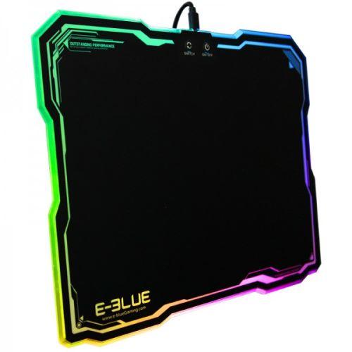 tapis de souris gamer avec retro eclairage rgb led e blue emp013bkaa iu