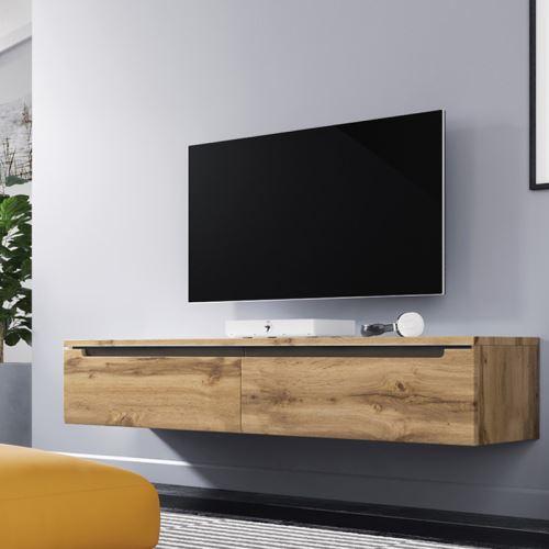 wander meuble tv suspendu banc tv
