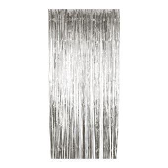 rideau a lamelles argent 91 x 244 cm argent