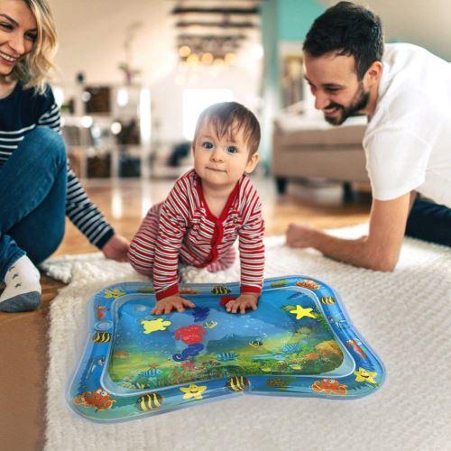 stillcool tapis d eau matelas gonflable jouet enfant bebe educatif ocean poisson