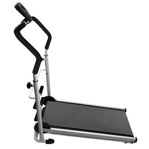 tapis roulant zada avec des sit ups pour appareils de fitness noir non motorise