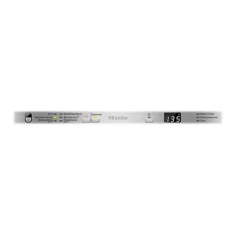 miele g 4782 scvi lave vaisselle integrable niche largeur 45 cm profondeur 57 cm hauteur 80 5 cm acier inoxydable