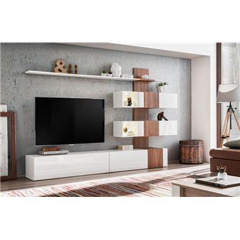 paris prix ensemble meuble tv design quill 250cm blanc