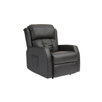 fauteuil relax electrique massant noir galler