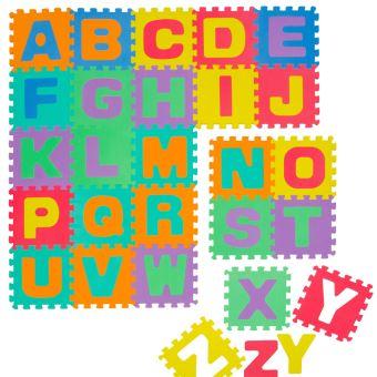 littletom tapis de jeu doux pour bebe dalles puzzle en mousse enfants lettres