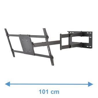 dq reach xxl 91 cm noir bras articule