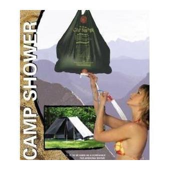 poche de douche solaire pour exterieur jardin camping caravanne ou camping car