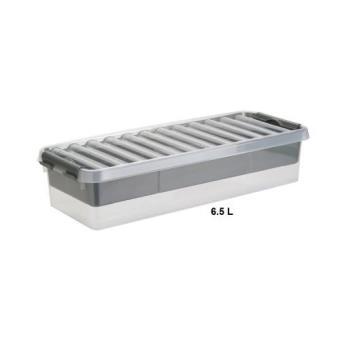boite de rangement multifonctions avec compartiment amovible 6 5 litres