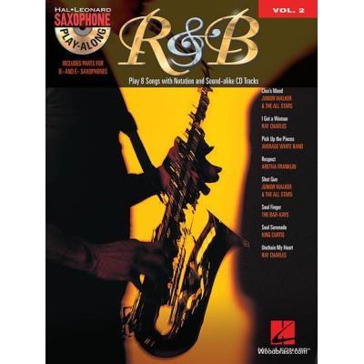 Saxophone Play-Along Volume 2 R&B + Cd