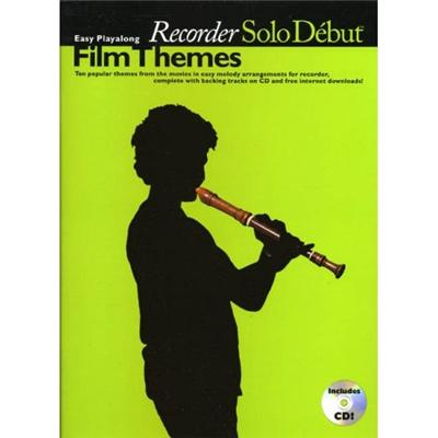 SOLO DEBUT FILM THEMES RECORDER+CD