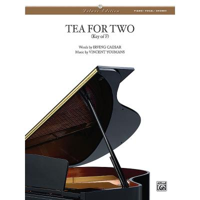 Partitions variété, pop, rock... ALFRED PUBLISHING CAESAR I & YOUMANS V - TEA FOR TWO - PVG Piano voix guitare